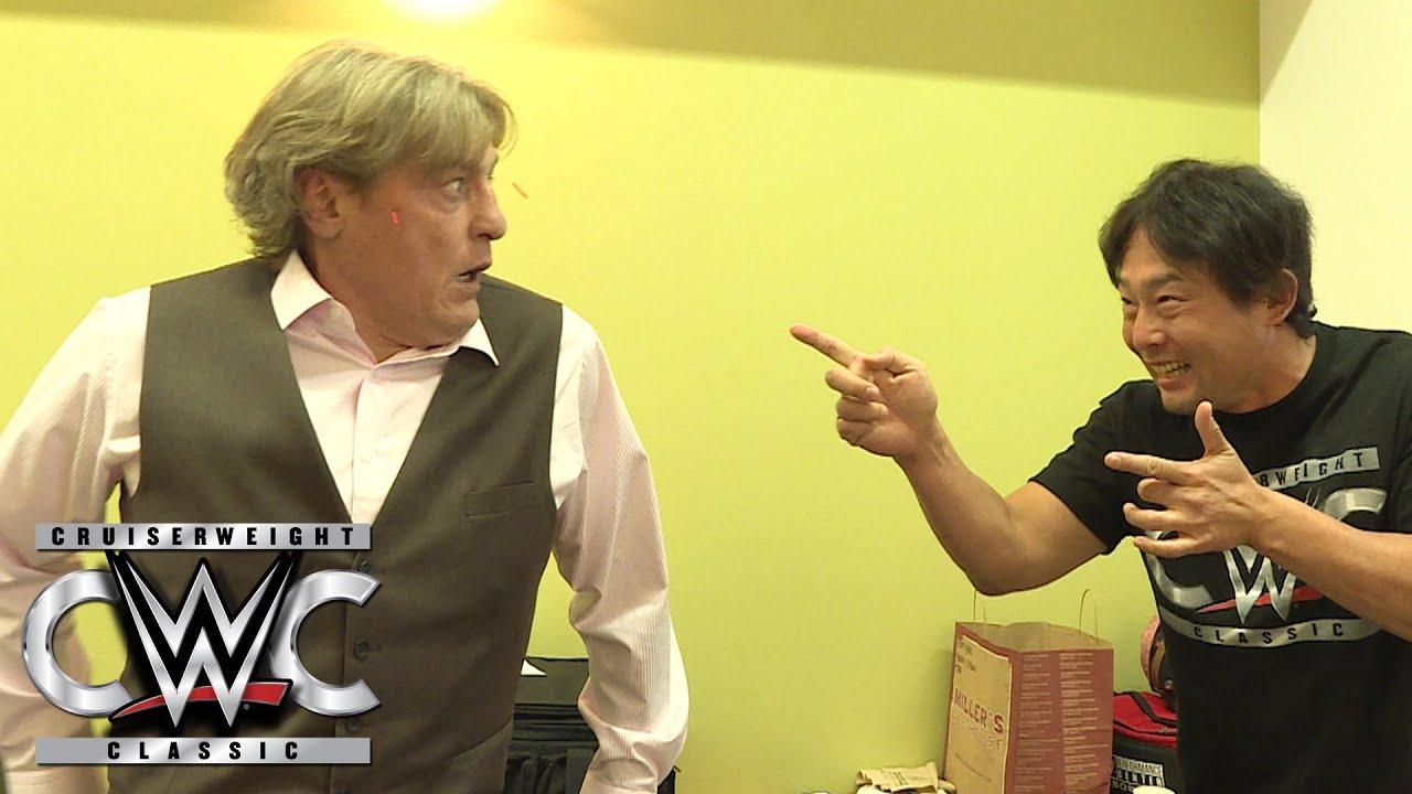 Tajiri performs acupuncture on William Regal: CWC Exclusive, Aug. 10, 2016  - YouTube