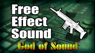 Machinegun shooting sound effect