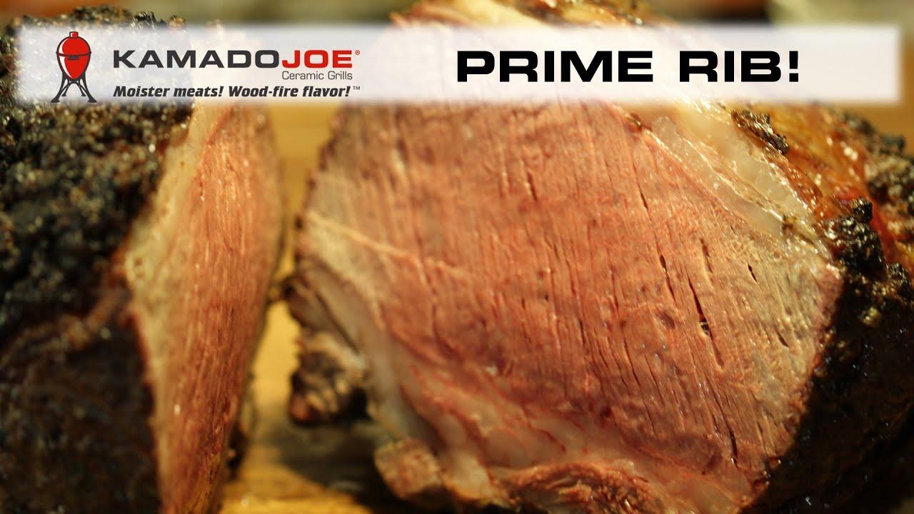 Kamado Joe Prime Rib Youtube