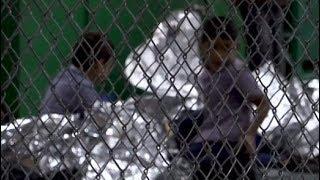 Trumps Einwanderungspolitik: Einblick in die Auffanglager für Kinder