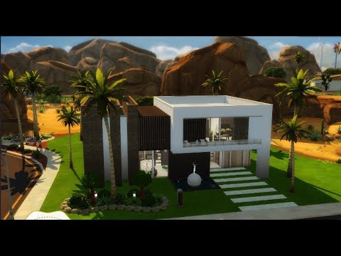 The sims 4 casa moderna grande isa gamer youtube for Casas modernas sims 4 paso a paso