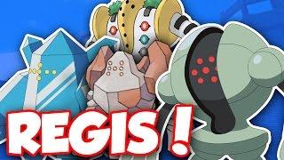 HOW TO GET REGIROCK, REGISTEEL, REGICE, AND REGIGIGAS!! / Pokemon Brick Bronze