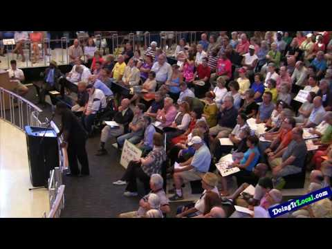 Bridgeport News: City Hall Tax Protest