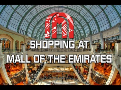 Shopping at Mall of the Emirates | Judden (02-FEB-2016)