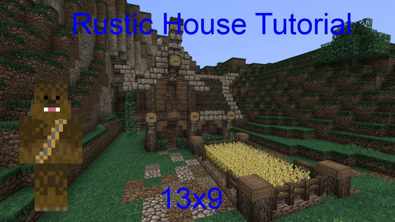 Minecraft 13x9 Small Rustic House