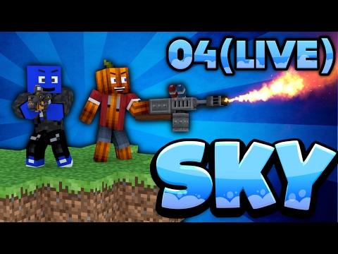 WIR BRAUCHEN EINE VERTEIDIGUNG! - Minecraft SKY #4 (LIVE) | DieBuddiesZocken