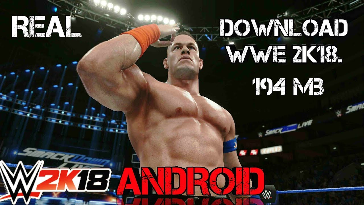 How To Download Wwe 2k18 On Android For Free Wwe 2k18 Android Ppsspp Gameplay Mod Hindi Urdu Youtube
