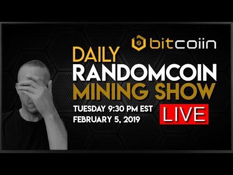 RandomCoin Mining Show LIVE! ⛏ - Bitcoiin2Gen (B2G) - Ethash