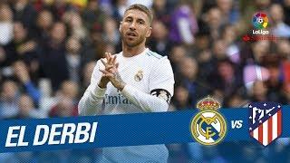 Lanzamiento de falta de Sergio Ramos parado por Oblak