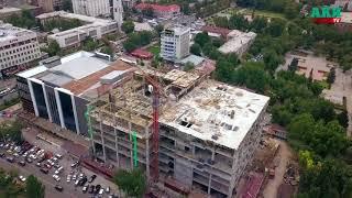 Новый ЦУМ Бишкека. Ход реконструкции