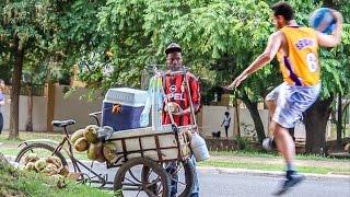 Broma Basketball Callejero (Street Basketball Prank)