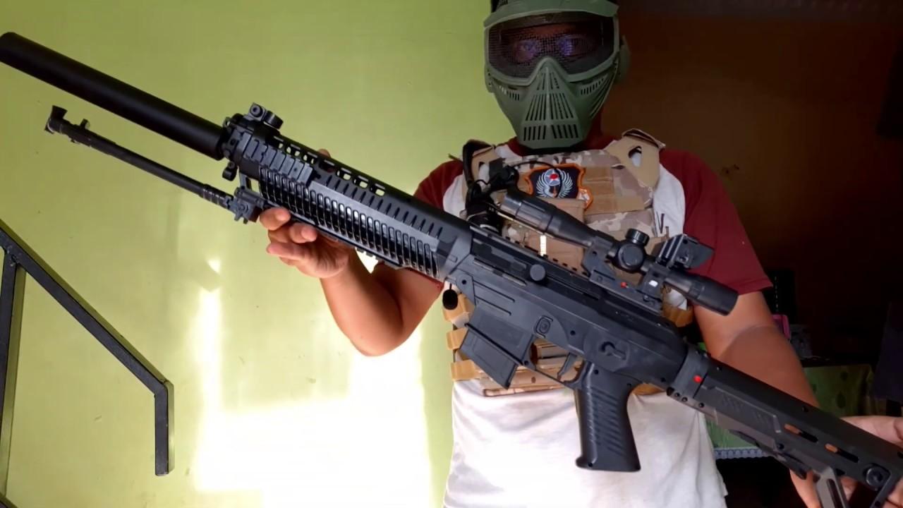 Airsoft Gun Sniper Spring Murah Youtube