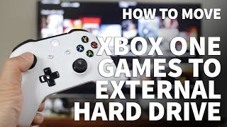 How to Move Xbox One Games to External Hard Drive – Copy or Move Xbox Games to Armor A60 USB Drive