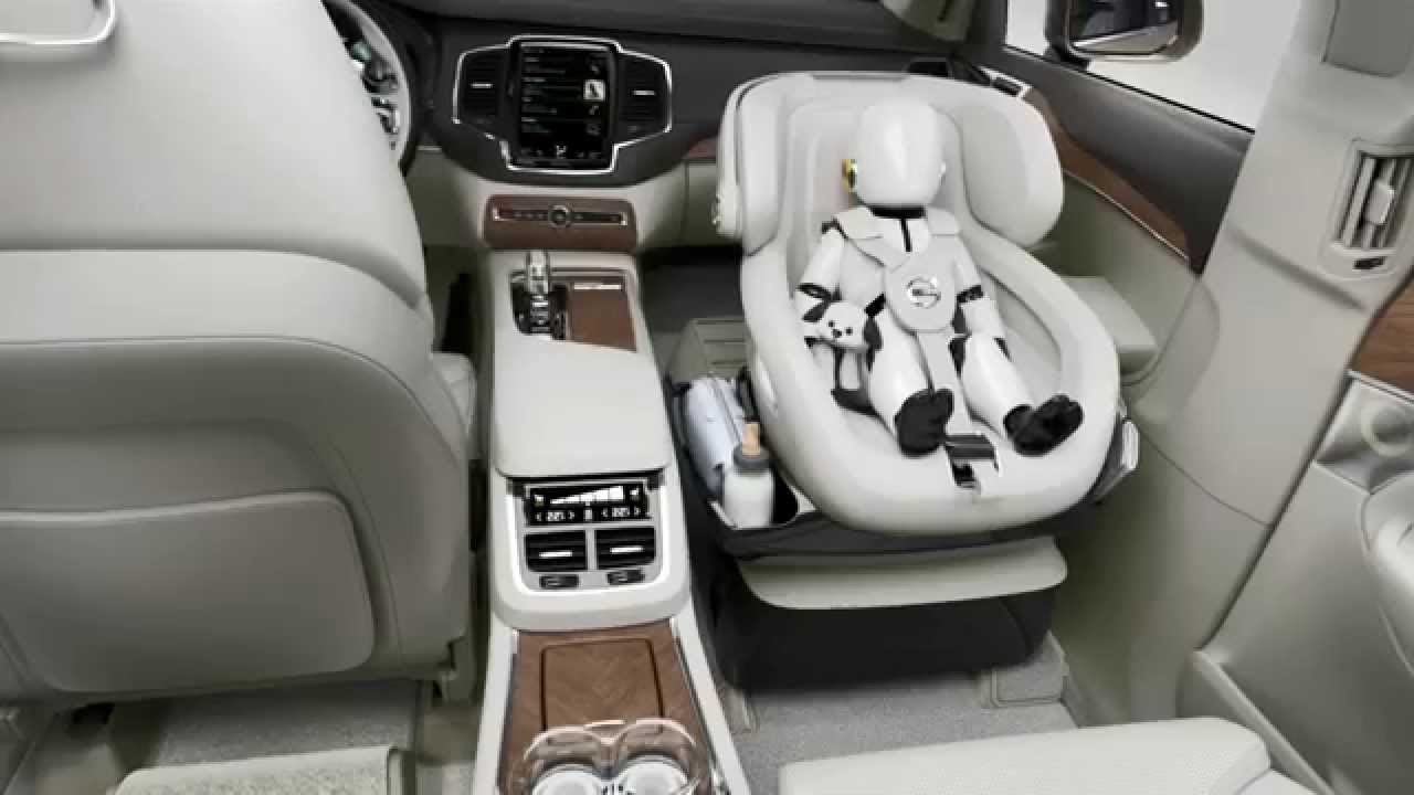Volvo Cars Excellence Child Seat Concept Youtube