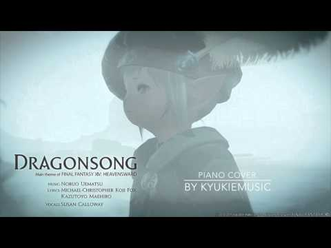 Dragonsong [Theme from FFXIV: Heavensward] (piano cover)