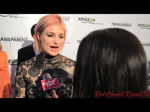Alison Sudol at the Amazon Premiere Screening for #TransparentTV ...