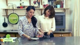 Cách làm Bánh Mochi trà xanh (Green tea mochi)