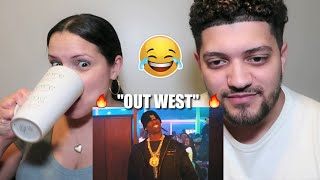 """MOM REACTS TO TRAVIS SCOTT & YOUNG THUG! """"OUT WEST"""" *FUNNY REACTION*"""