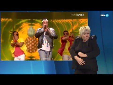 Freddy Kalas «Feel Da Rush» på tegnspråk - MGP 2016