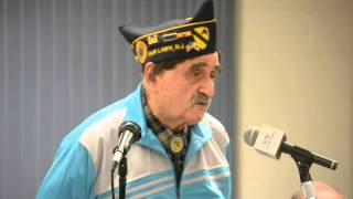 Knights of Pythias Veterans Honors Night 2013 Fred Levine Part 1