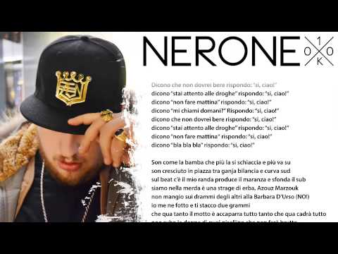 Nerone - Sì Ciao [prod. 2nd Roof] - [Rolling text] - 100k Ep #02