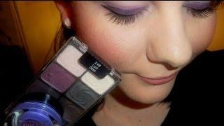 TUTORIAL: LUST Purple Smokey Eye Makeup Look