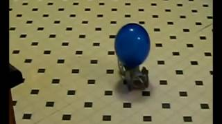 Balloon Powered Toy Car