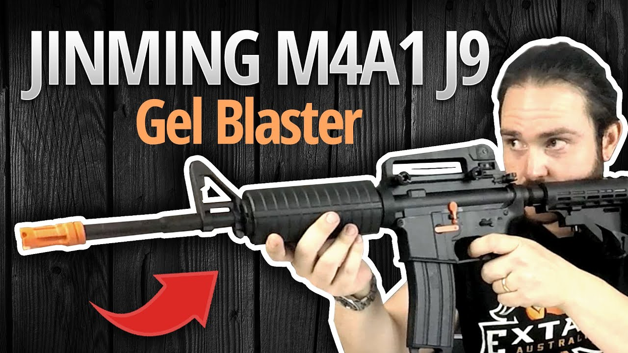 Jinming M4A1 Gel Blaster J9 - UNBOXING & REVIEW | Extac Australia Survival  and Outdoor Gear