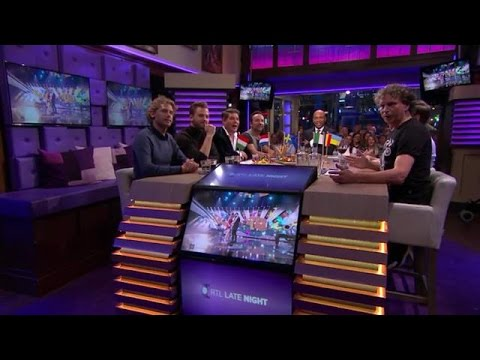 "Halve finale Songfestival: van de Alpenzusjes tot The Excorcist""  - RTL LATE NIGHT"