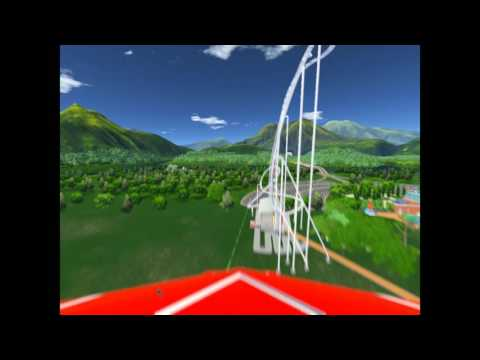 RollerCoaster Tycoon World: rollercoaster of death |