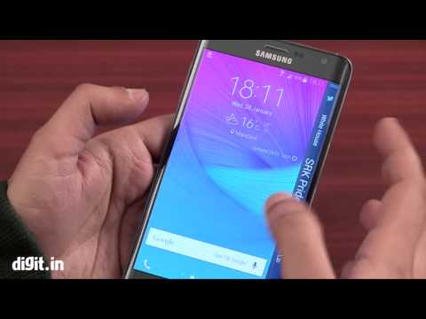 Samsung Galaxy Note Edge - First Look ( REVIEW)