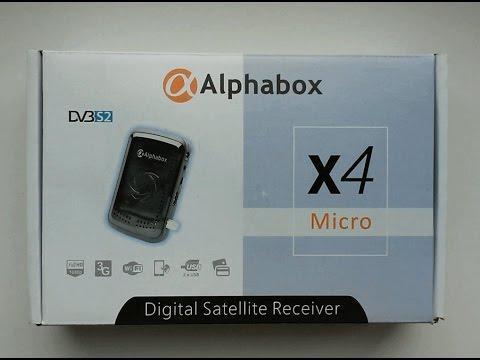 Alphabox X4 Software