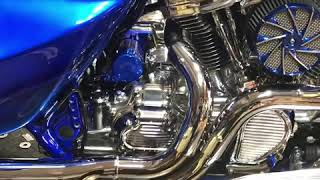 "Monster m8 polished 124"" big head milwaukee motor we built Harley"