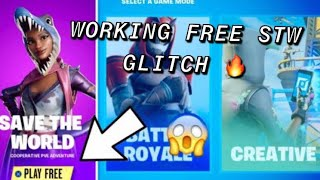 *GLITCH* HOW TO GET SAVE THE WORLD FOR FREE ON FORTNITE! WORKING PvE V-Bucks Glitch PS4 XBOX ONE PC