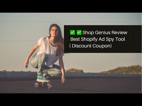 Shop Genius Ad Spy Tool For Shopify  Video Tutorial (Discount Coupon Included) thumbnail