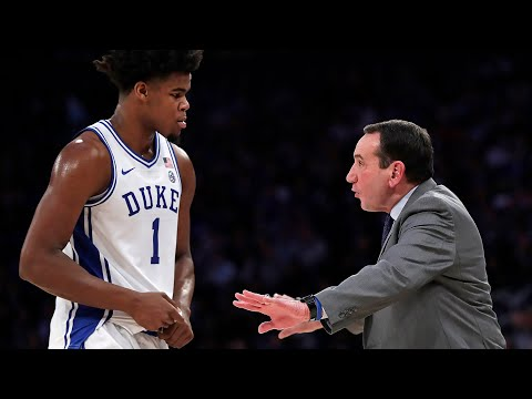 Duke's Coach K After Win Over Kansas: 'What A Way To Start The Season'