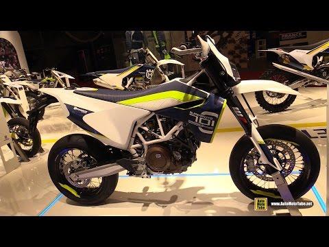 2016 Husqvarna 701 Supermoto - Walkaround - 2015 Salon de la Moto Paris