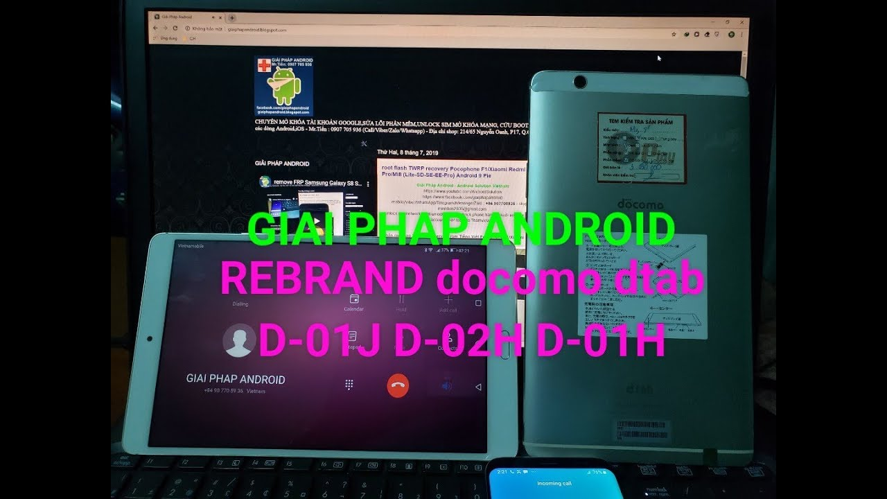 Rebrand docomo dtab d-01j d-02h d-01h (Japan to International firmware)