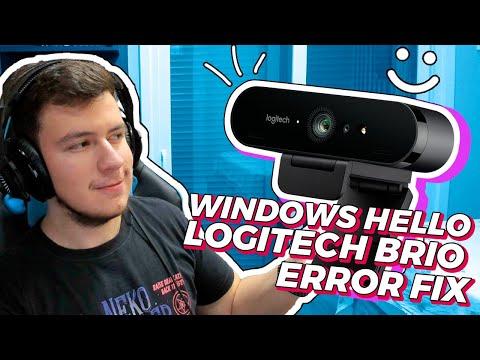 Corrigindo Erro Windows Hello Na Logitech Brio