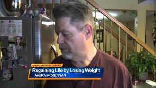 Regaining life by losing weight - medical minute