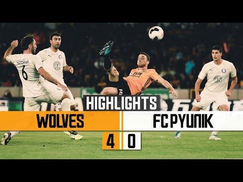 UNBELIEVABLE JOTA GOAL! Wolves 4-0 FC Pyunik | Highlights