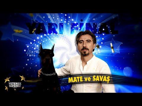 Mate and Savaş   Animal Shows  Final   Got Talent Turkey 5. Sezon