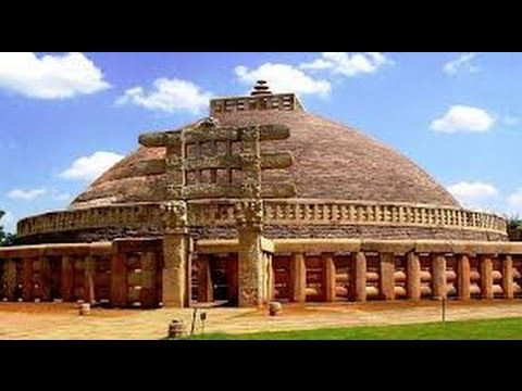 THE GREAT STUPA OF SANCHI,BUILT IN THE 3RD CENTURY BC BY ASHOKA THE GREAT,UNESCO WORLD HERITAGE SITE