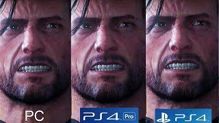 The Evil Within 2 - PS4 vs PS4 Pro vs PC Graphics Comparison [4K/60FPS]