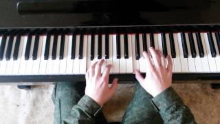 Обучение на фортепиано Martin Garrix - Animals (by Toffa Alimoff)