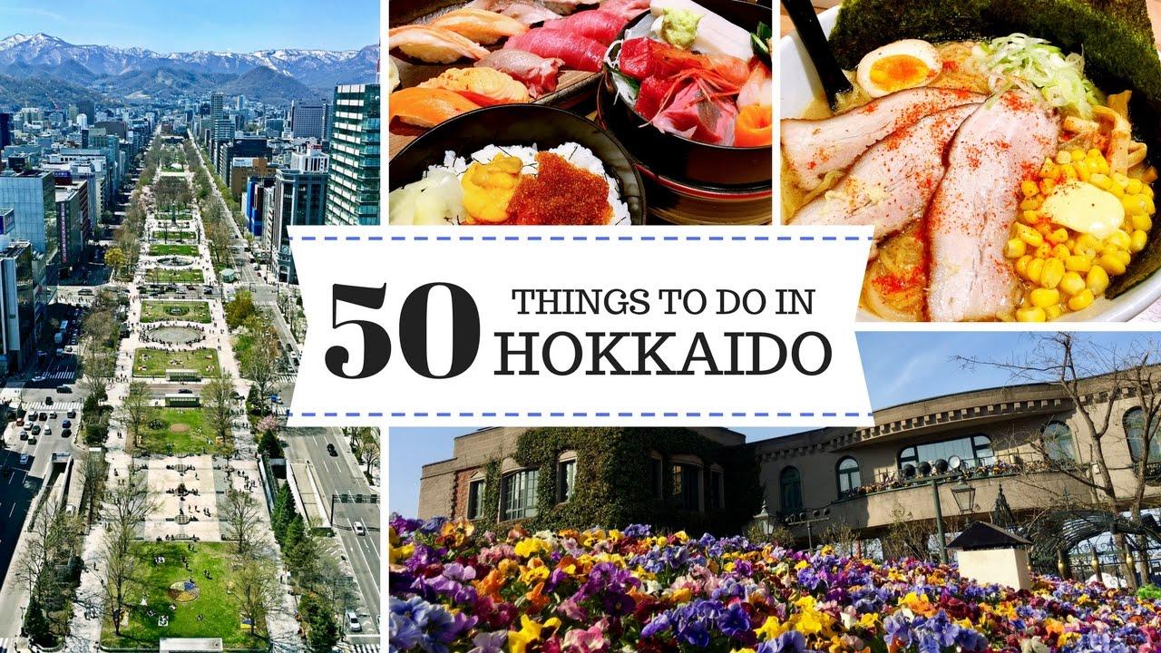 3 Days in Hokkaido - 50 Things to Do in Sapporo & Otaru | JAPAN TRAVEL  GUIDE | 日本北海道