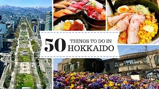 3 Days in Hokkaido - 50 Things to Do in Sapporo & Otaru | JAPAN TRAVEL GUIDE | 日本北海道