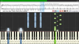 Yahin Hoon Main (Ayushmann Khurrana) || Piano Tutorial + Music Sheet + MIDI with Lyrics