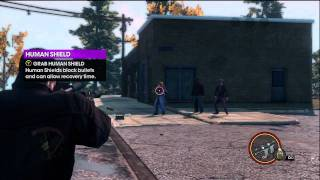 Saints Row The Third All Of My Weapons Part 1 HD