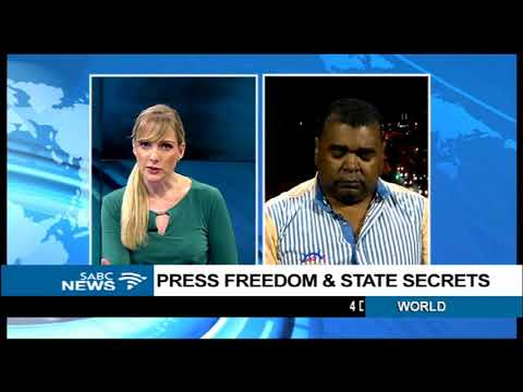 Press freedom and state secrets: Adv. Rod Solomons
